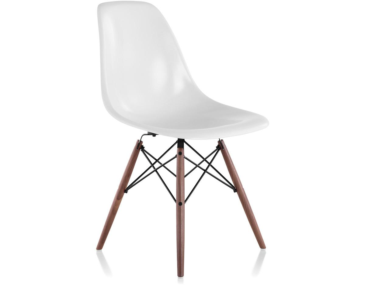 Eames Molded Fiberglass Side Chair Dowel Base