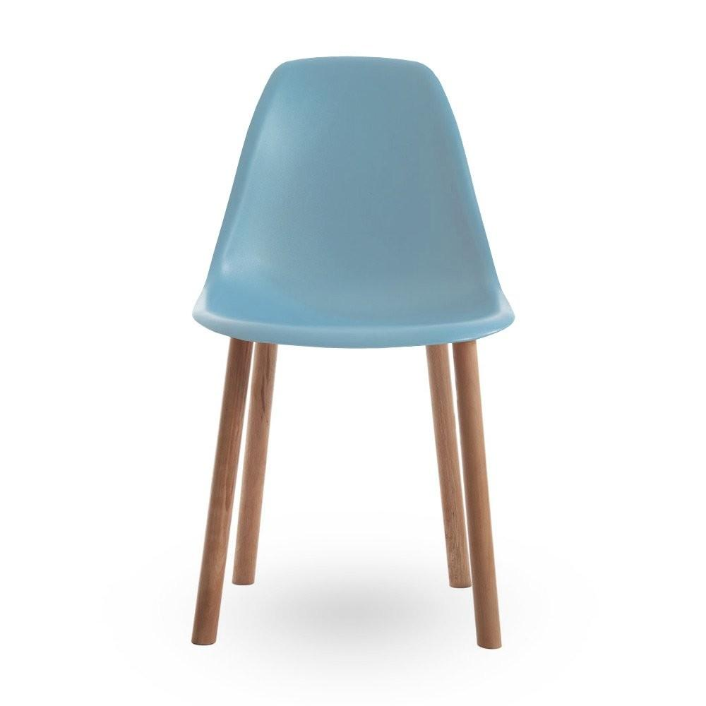Eames Style Blue Dining Chair