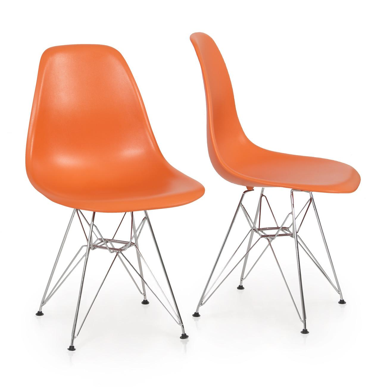 Eames Style Dsw Modern Eiffel Side Chair Molded Abs