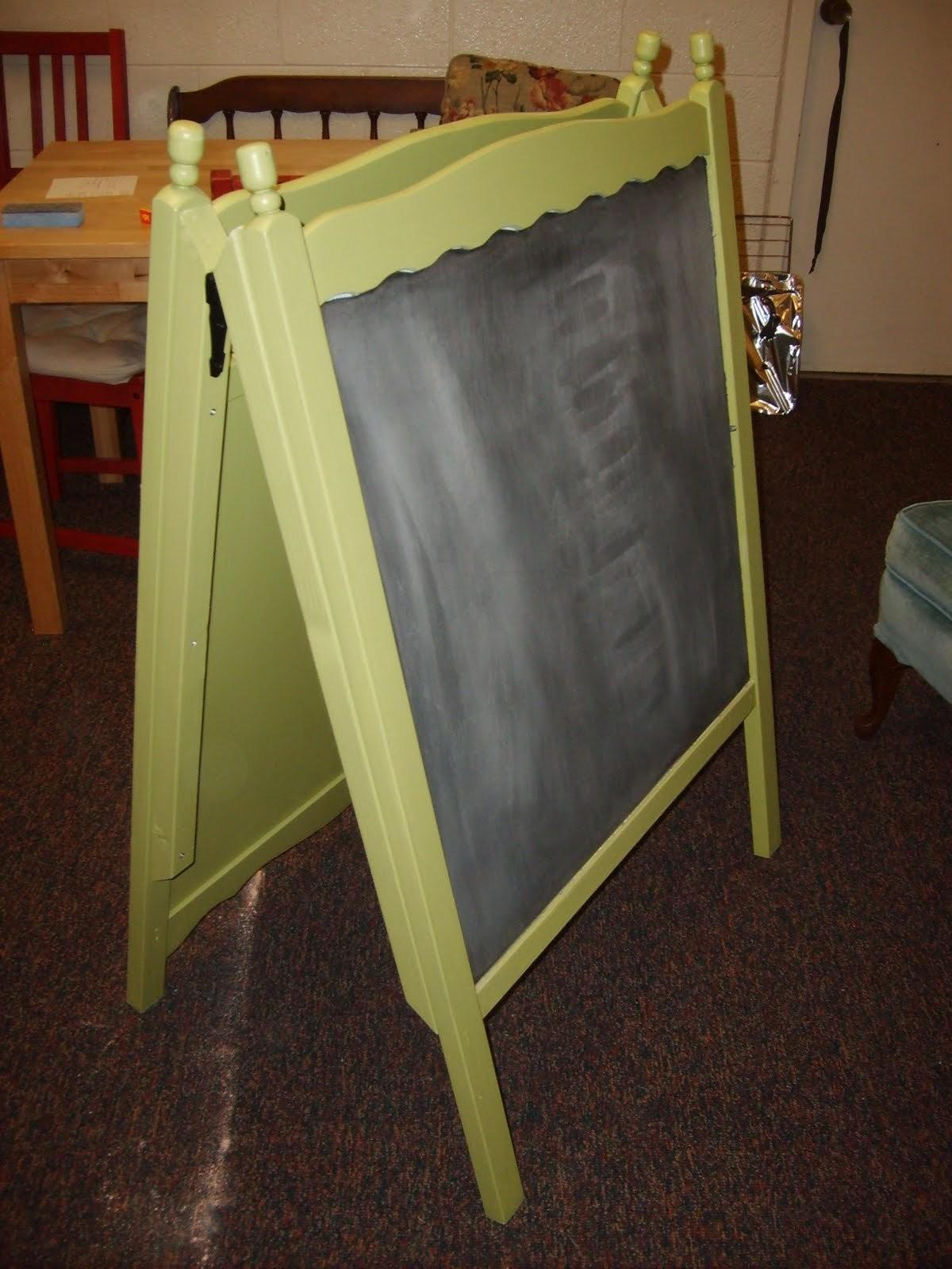 Easel Board Stylish Ways Repurpose Your Crib