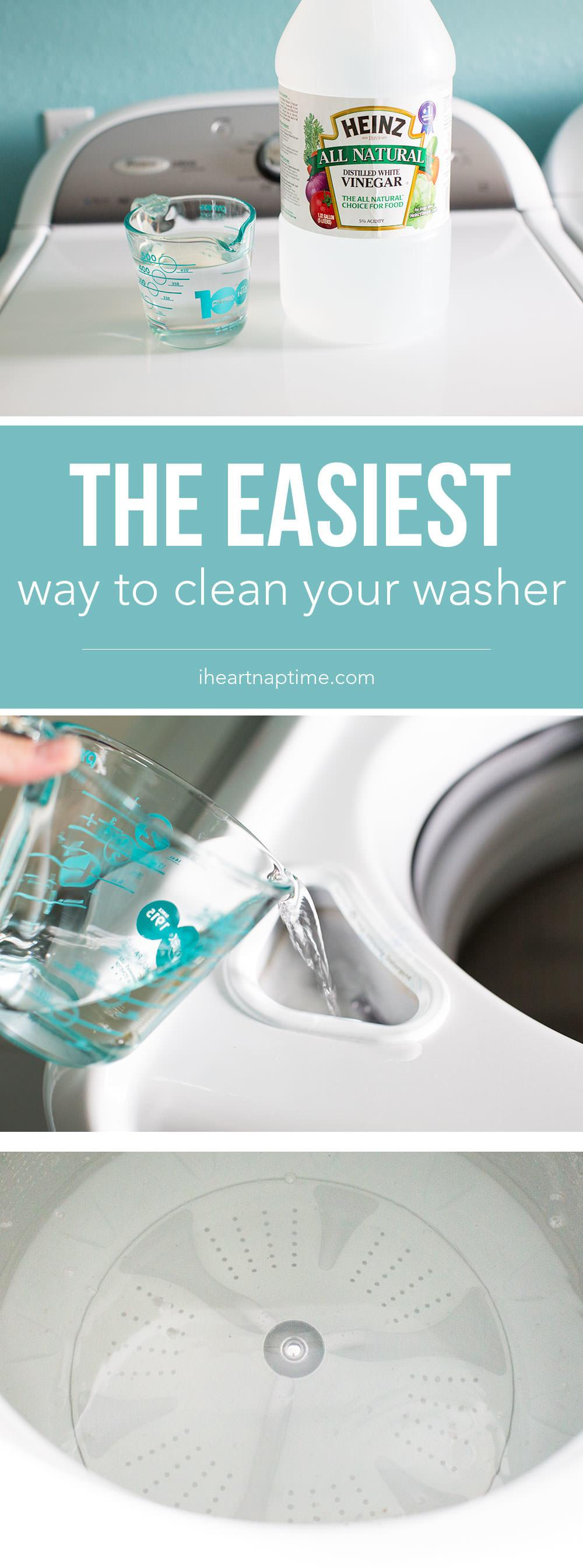 Easiest Way Clean Your Washer Veryhom