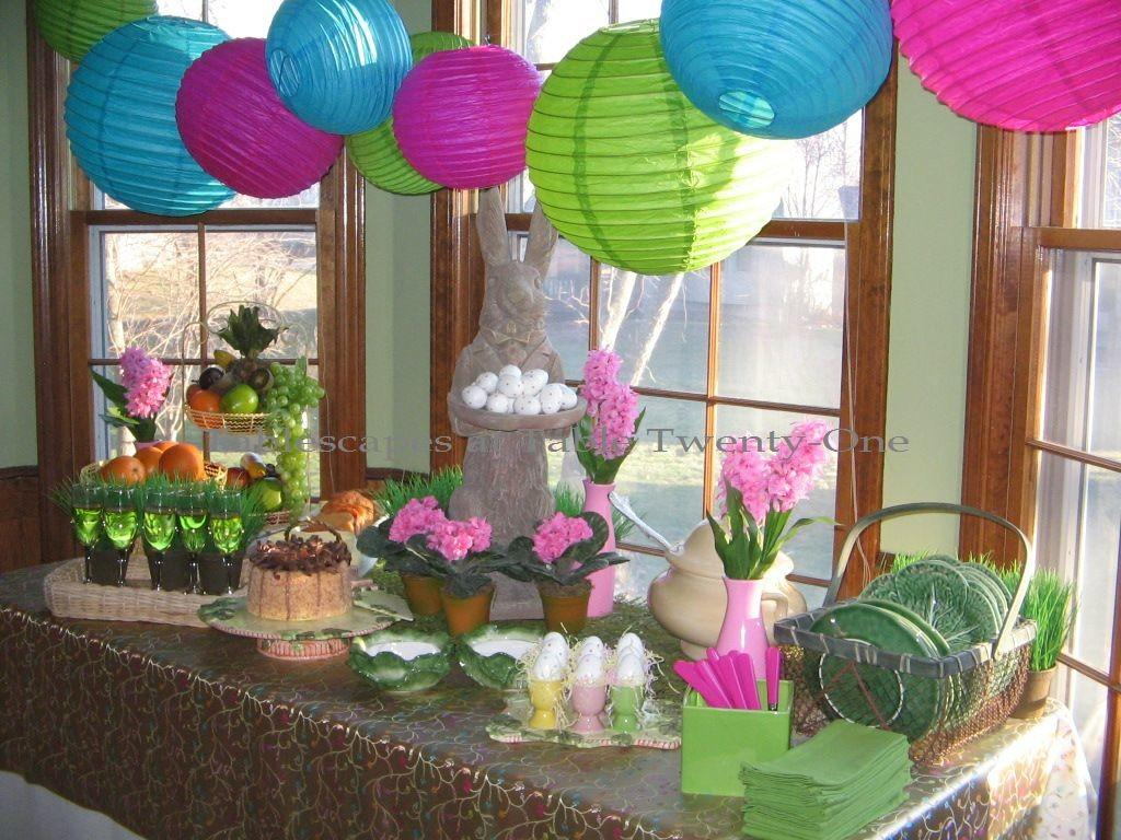 Easter Brunch Tablescapes Table Twenty One