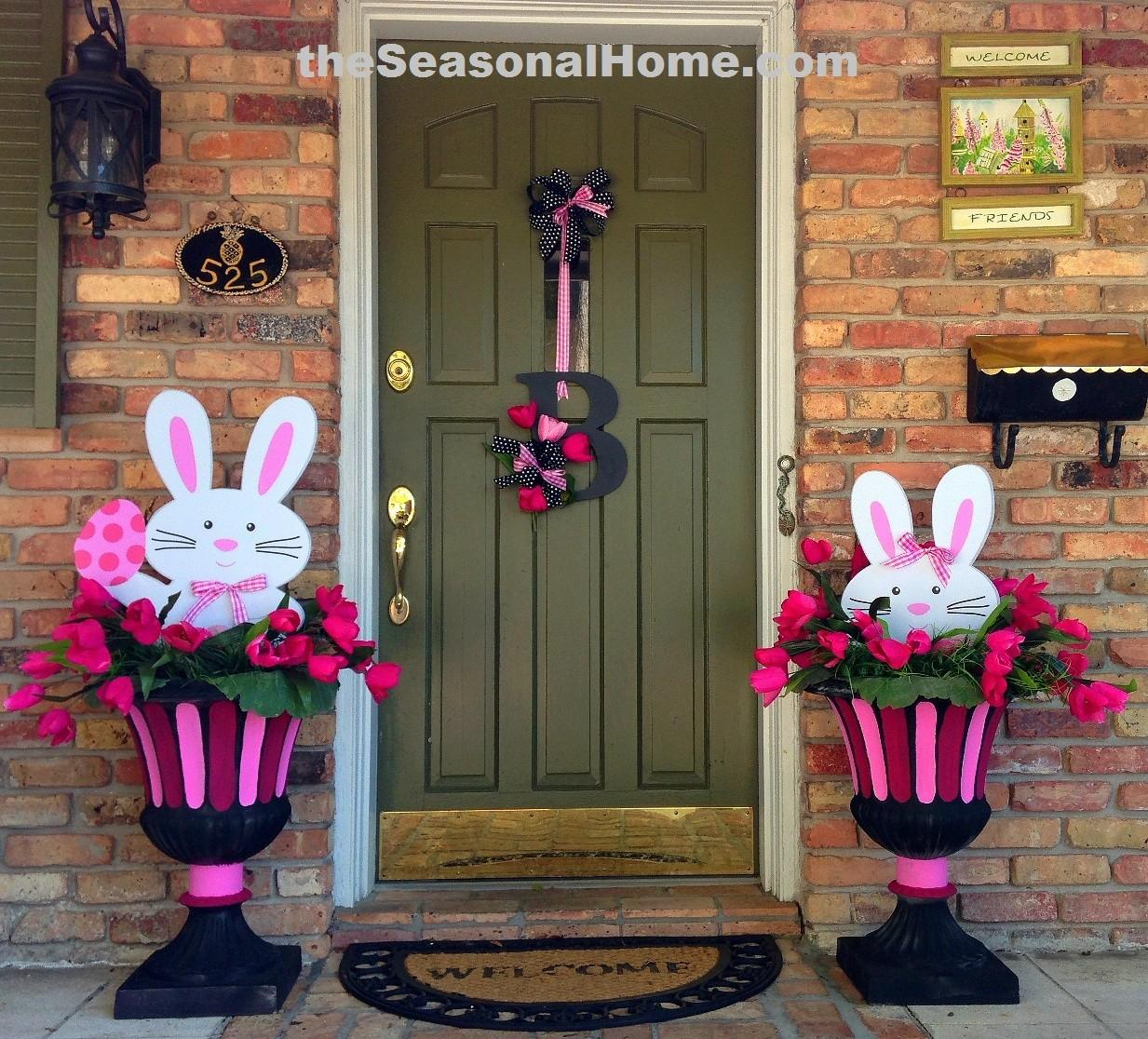 Easter Bunnies Different Looks Seasonal Home
