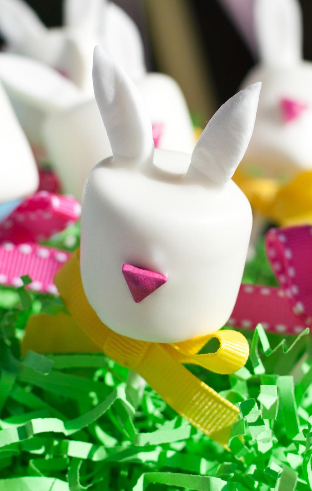 Easter Bunny Marshmallow Pops Tutorial Frog