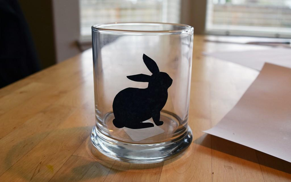 Easter Bunny Soy Tea Light Candle Holder Diy Project
