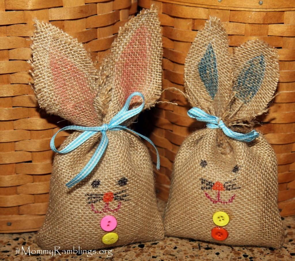 Easter Burlap Bunnies Craft Ideas Even Young Children Can