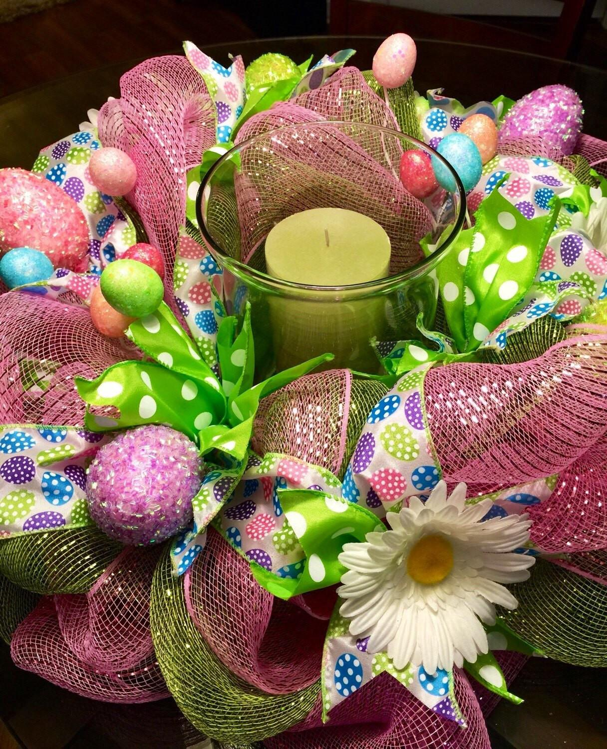 Easter Centerpiece Whimsical Decor Table