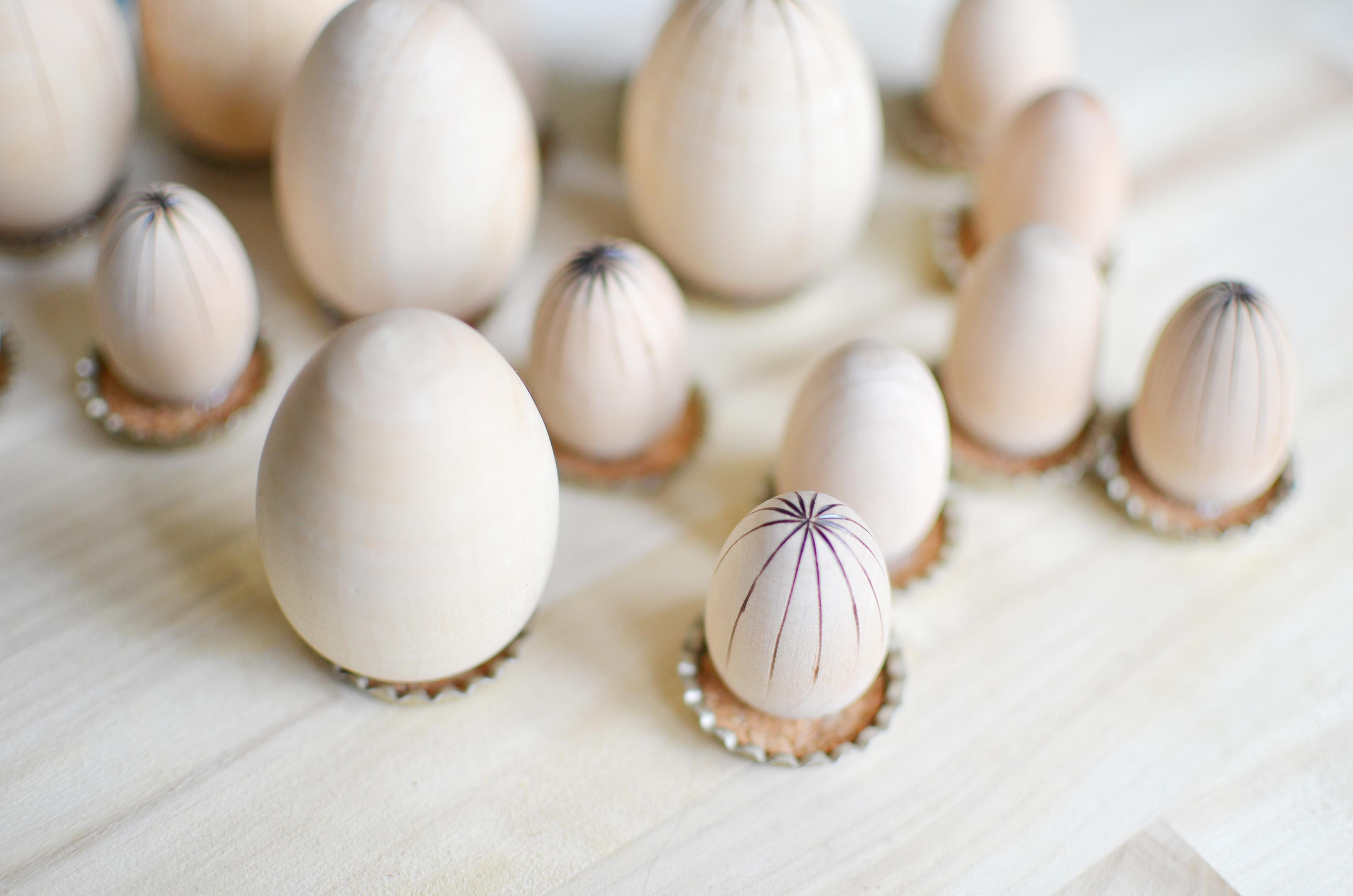 Easter Craft Egg Chess Checkers