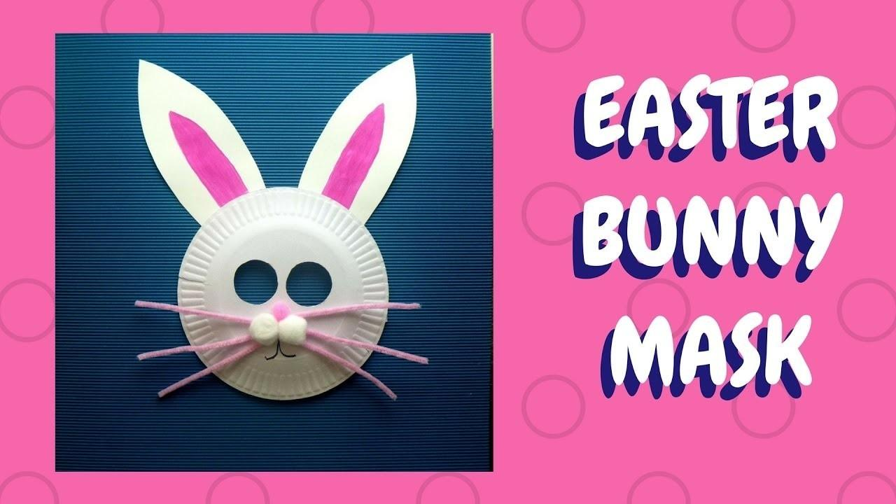 Easter Crafts Paper Plate Bunny Mask