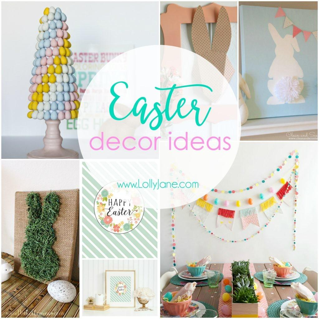 Easter Decor Ideas Lolly Jane
