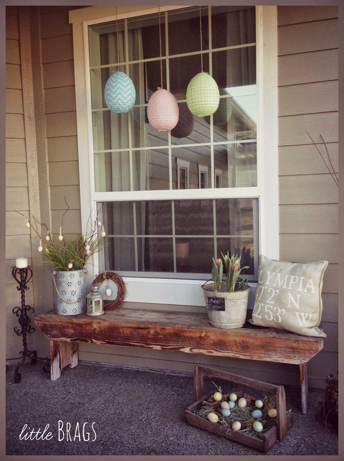 Easter Decorating Front Porch Photos