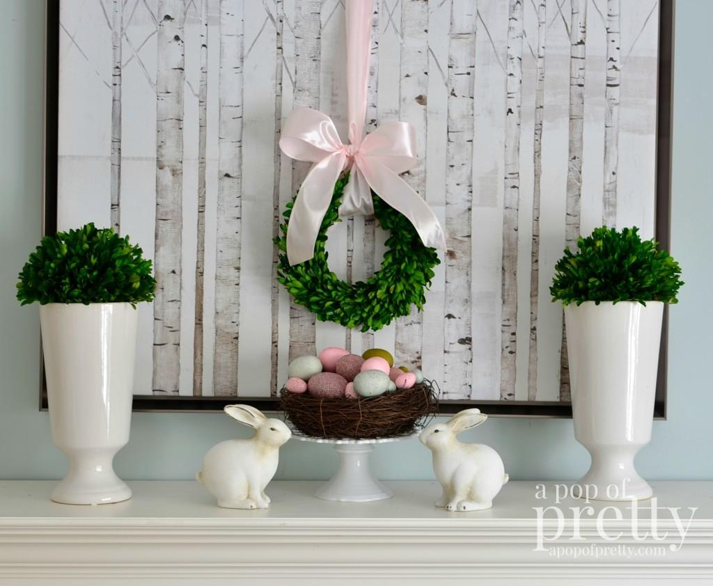 Easter Decorating Simple Pretty Pop Blog