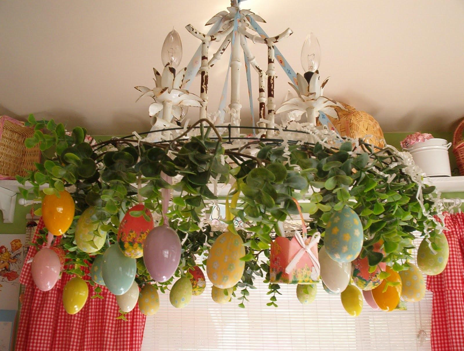 Easter Decoration Home Table