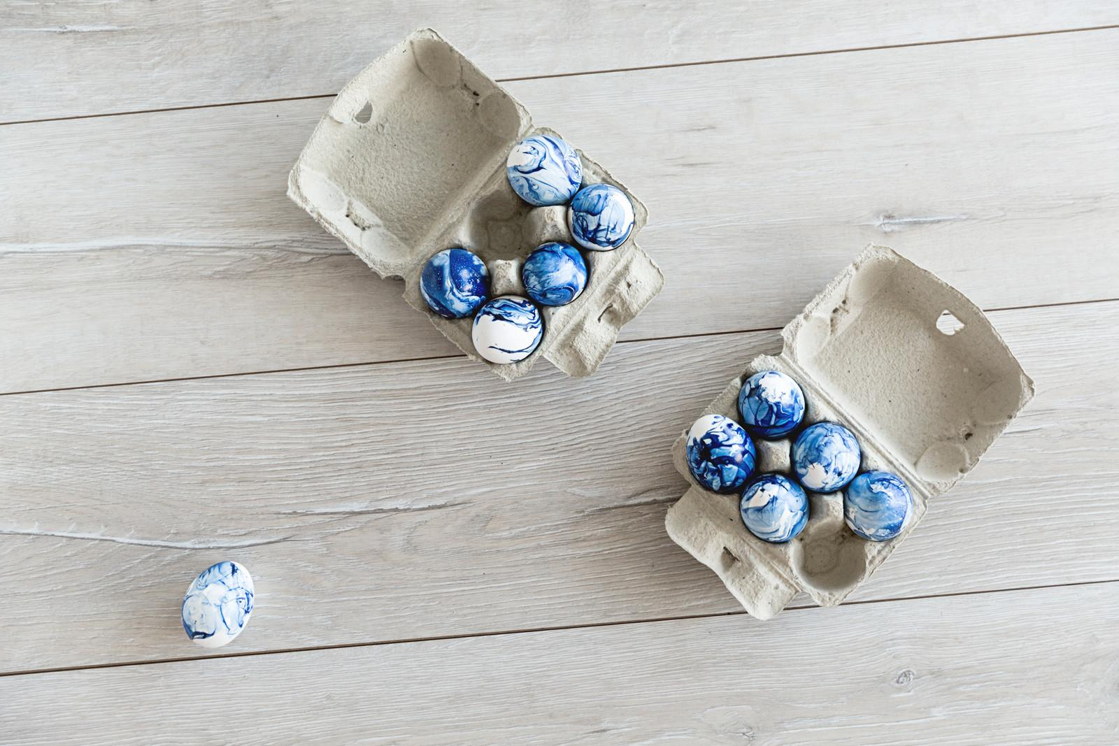 Easter Diy Marble Eggs Thefashionfraction