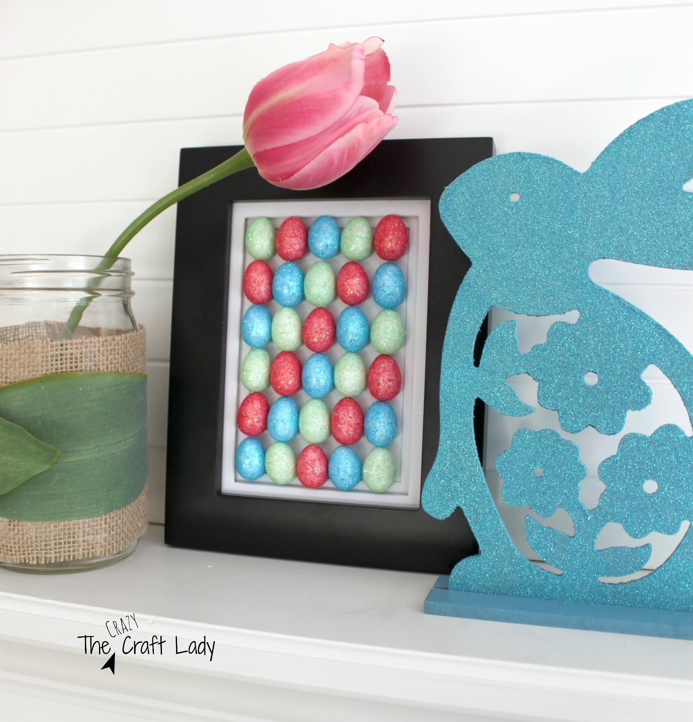 Easter Egg Art Dollar Store Craft Crazy Lady
