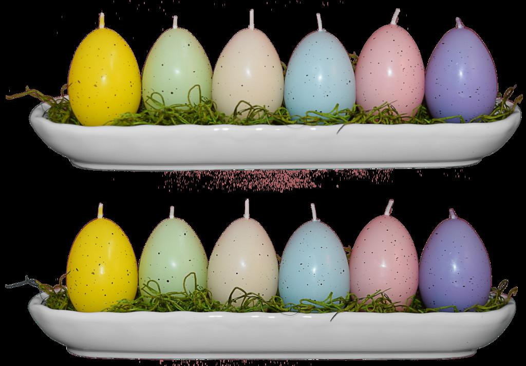 Easter Egg Candles Stock Reposted Mom Espeace