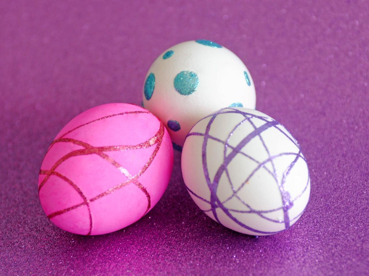 Easter Egg Decorating Ideas Easy Crafts Homemade