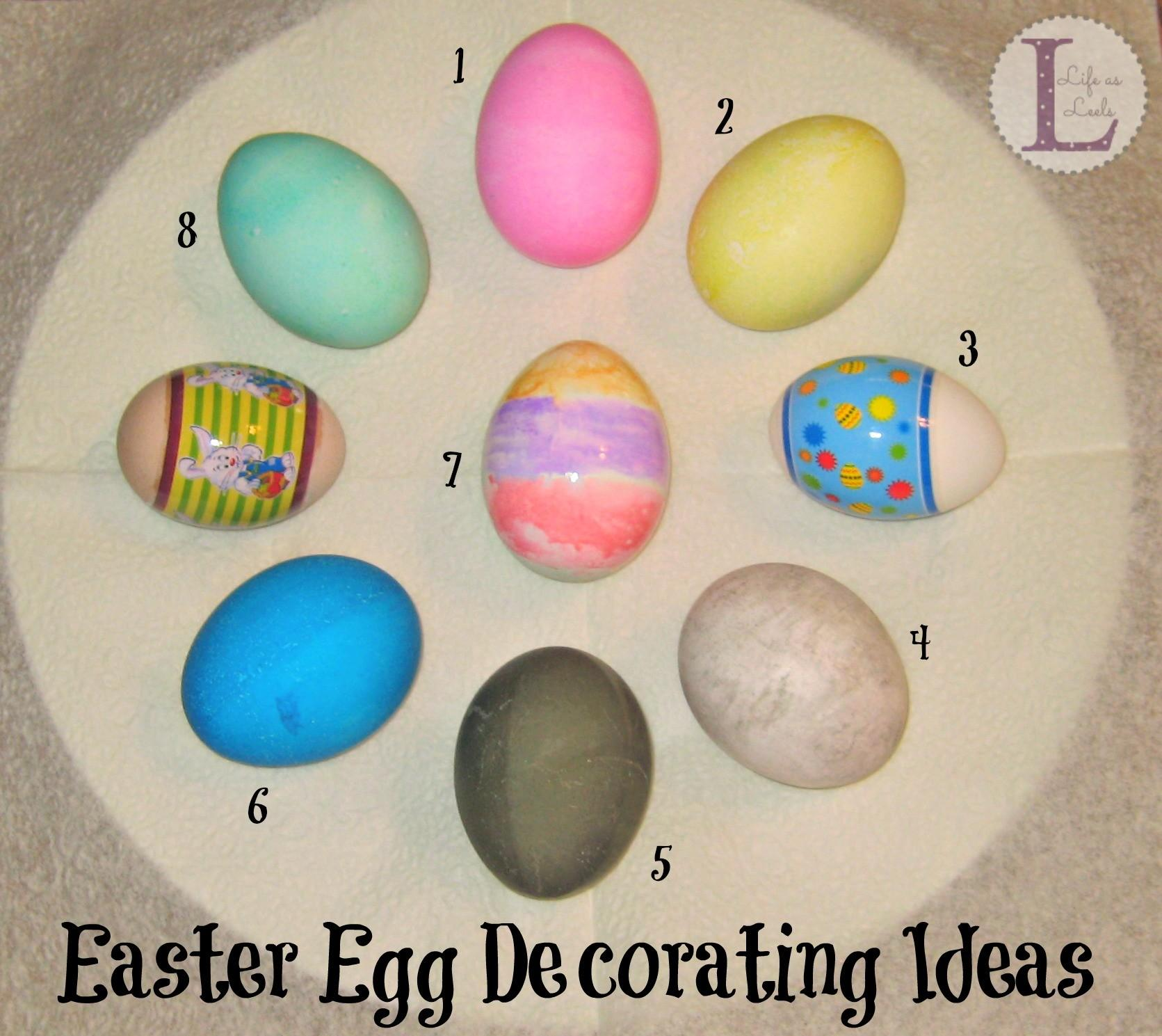 Easter Egg Decorating Ideas Life Leels