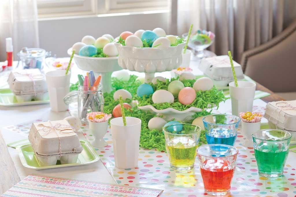 Easter Egg Dyeing Party Idea Celebrate Magazine