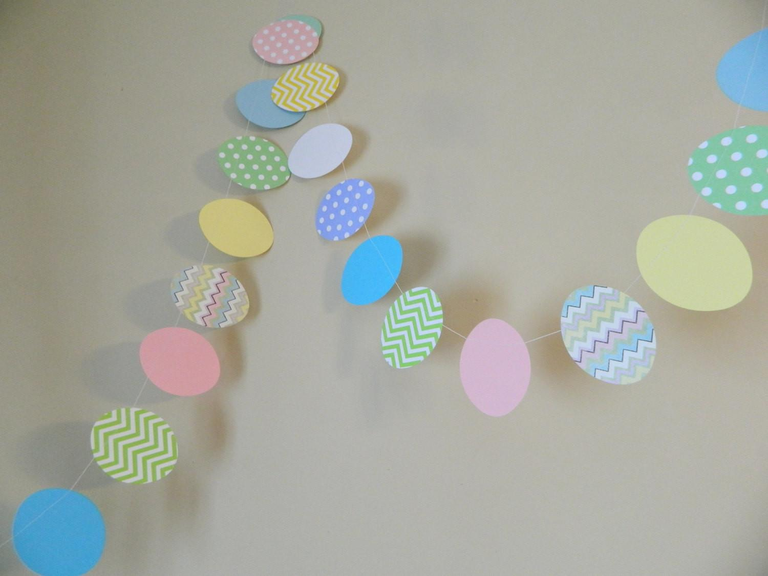 Easter Egg Garland Decorations Anyoccasionbanners