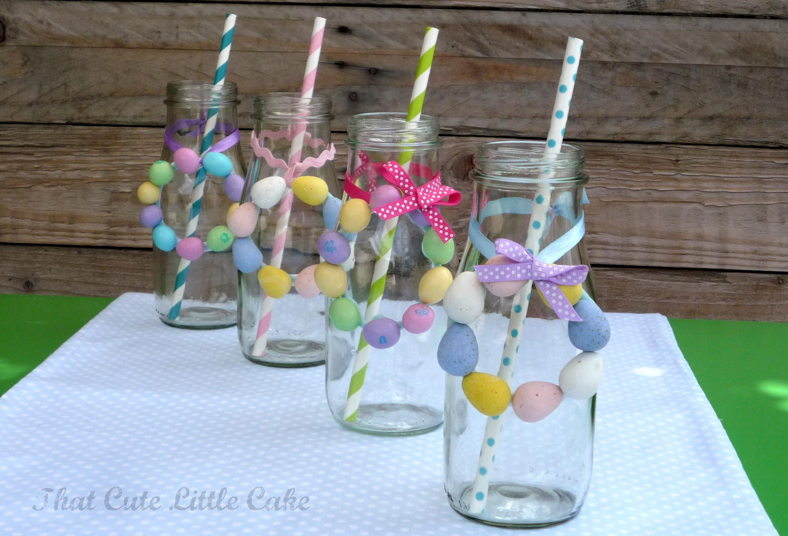 Easter Egg Mini Candy Wreath Diy Catch Party