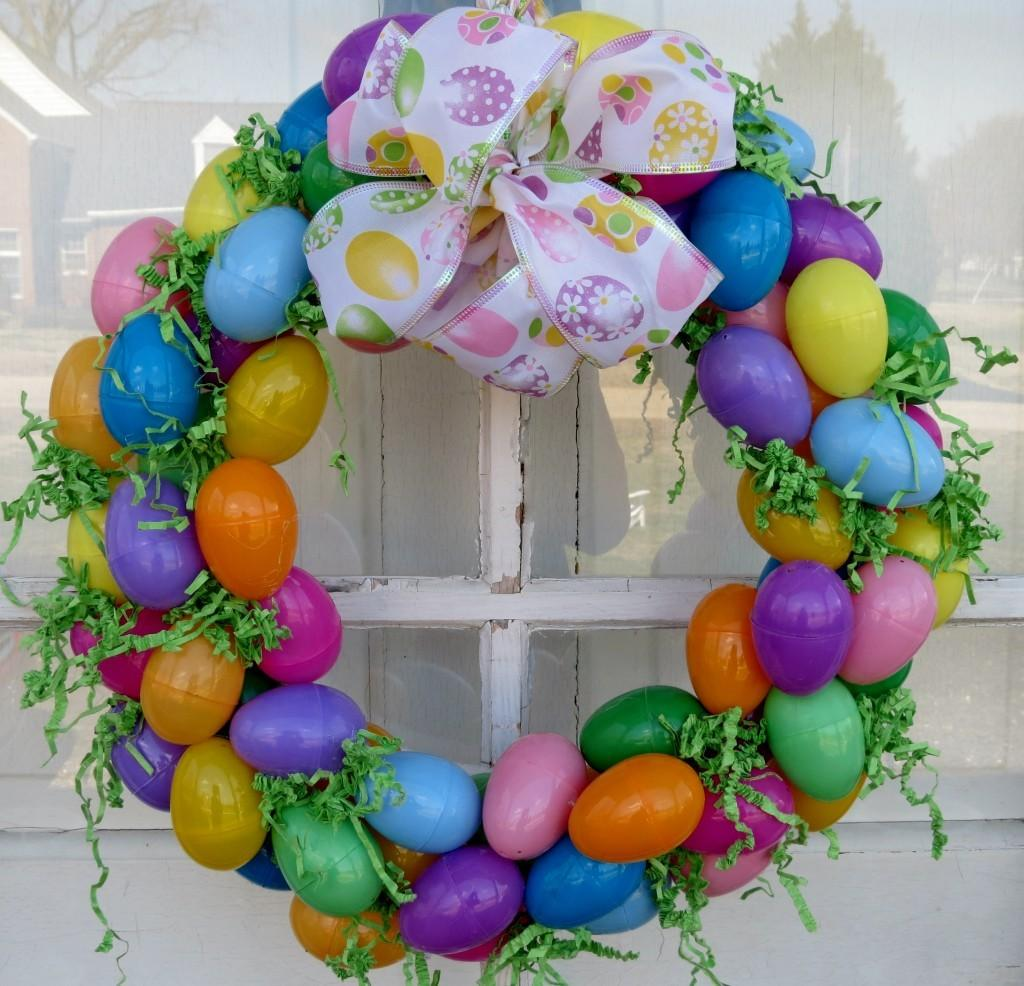Easter Egg Wreath Find Time
