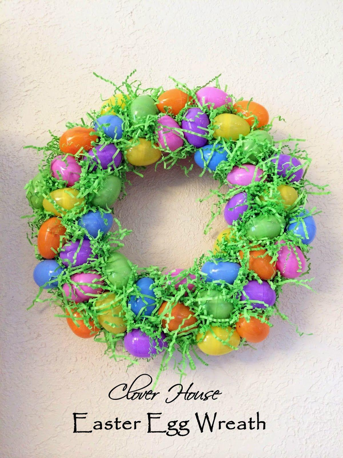 Easter Egg Wreath Photos