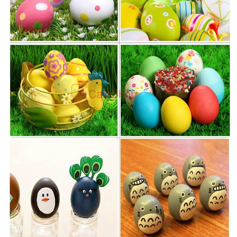 Easter Games Diy Lovely Pcs Lot Unpainted Wood Chicken