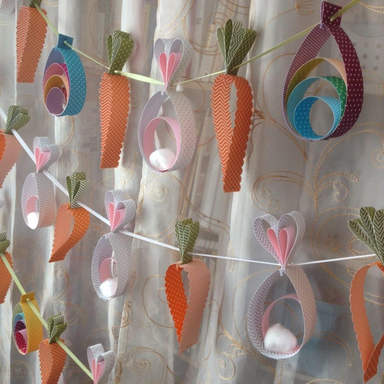 Easter Garland Egg Edition Midnight Crafting
