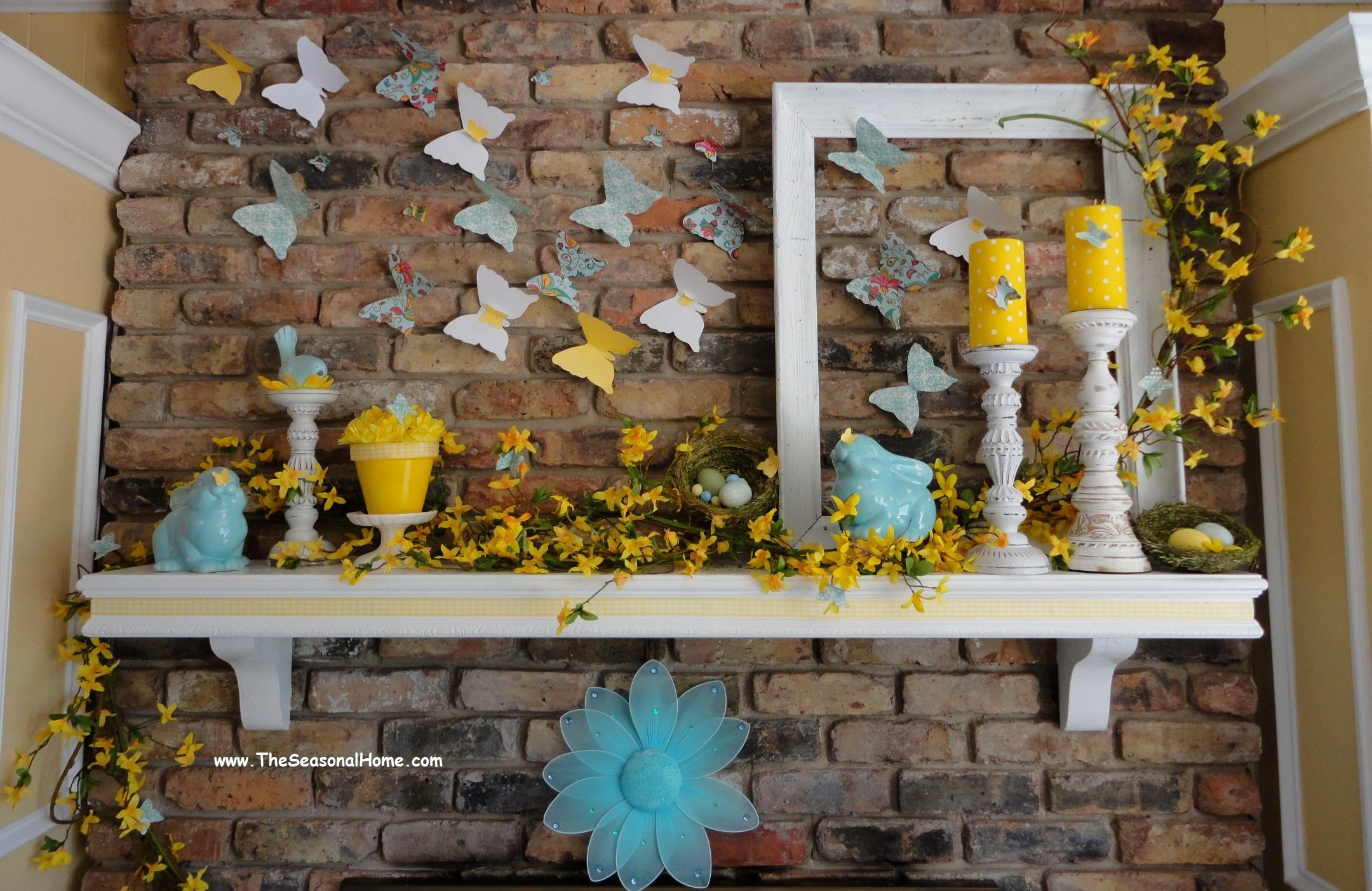 Easter Mantel Decorations Blog Fireplacemall