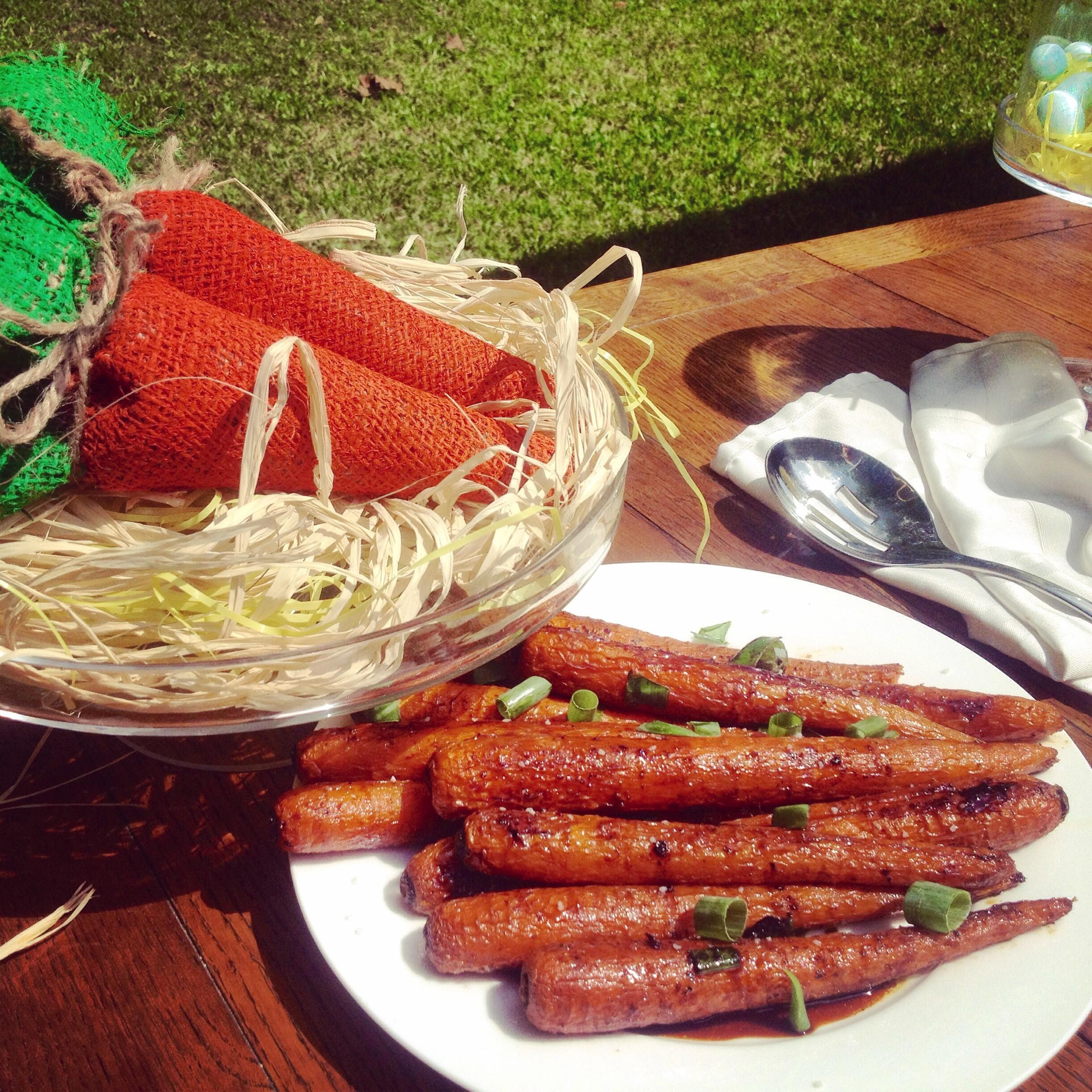 Easter Recipe Series Candied Balsamic Honey Carrots