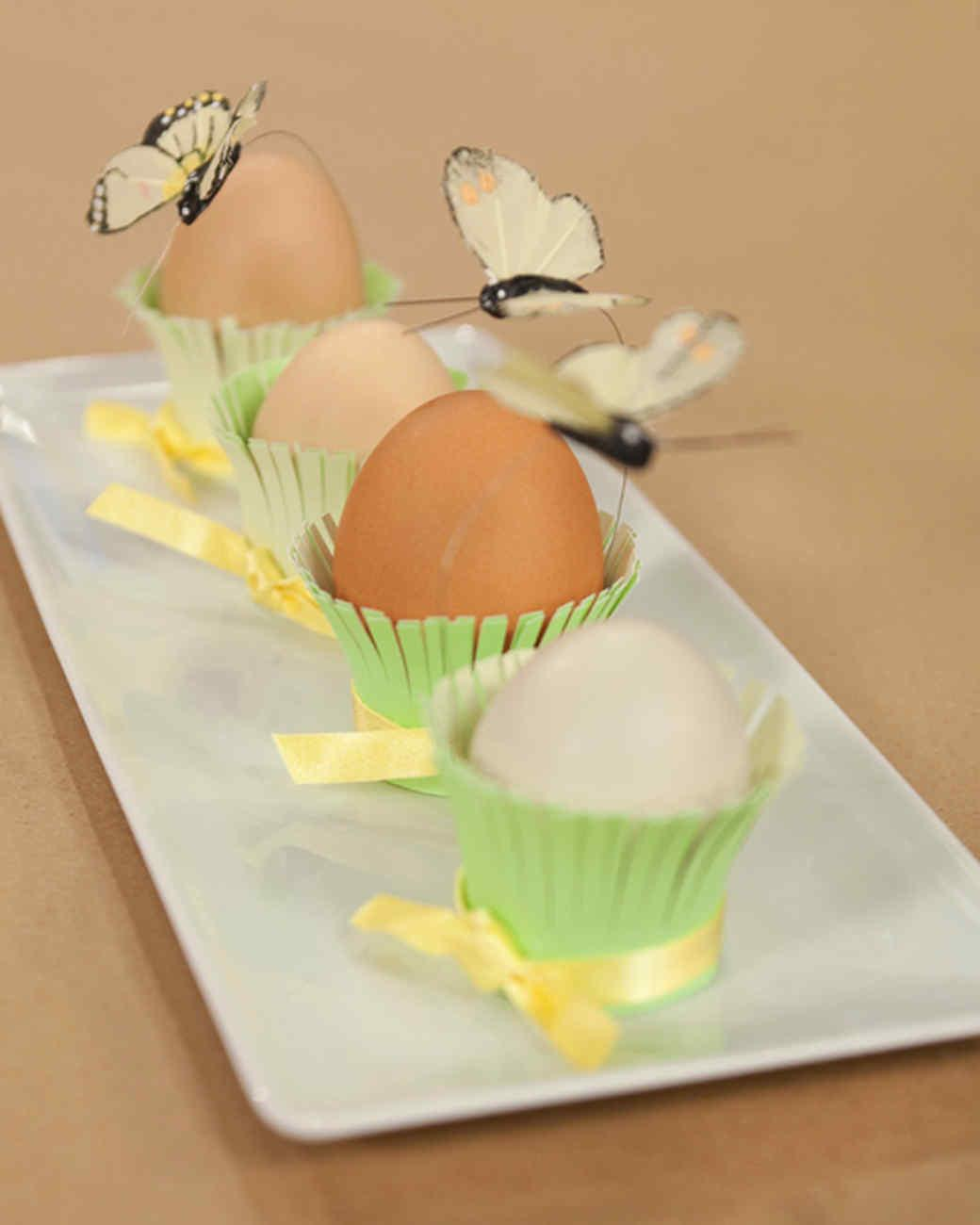 Easter Table Crafts Favors Martha Stewart