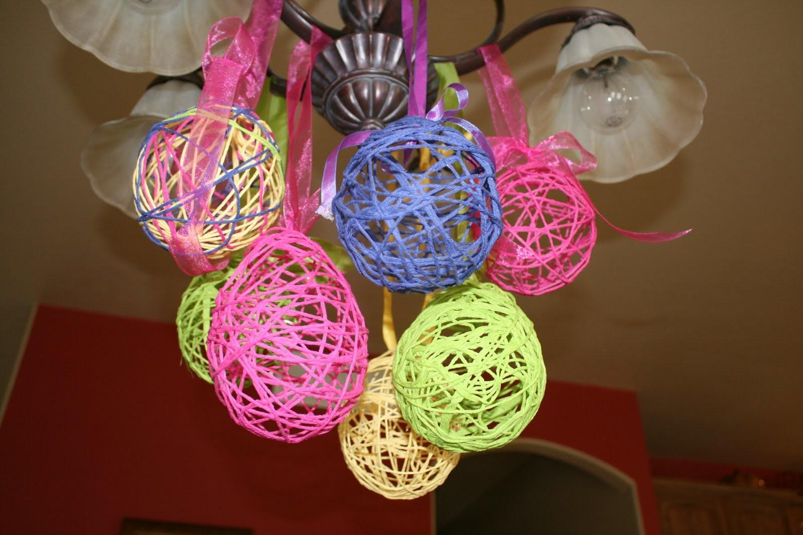 Easter Table Decoration Crafts Photograph Everything