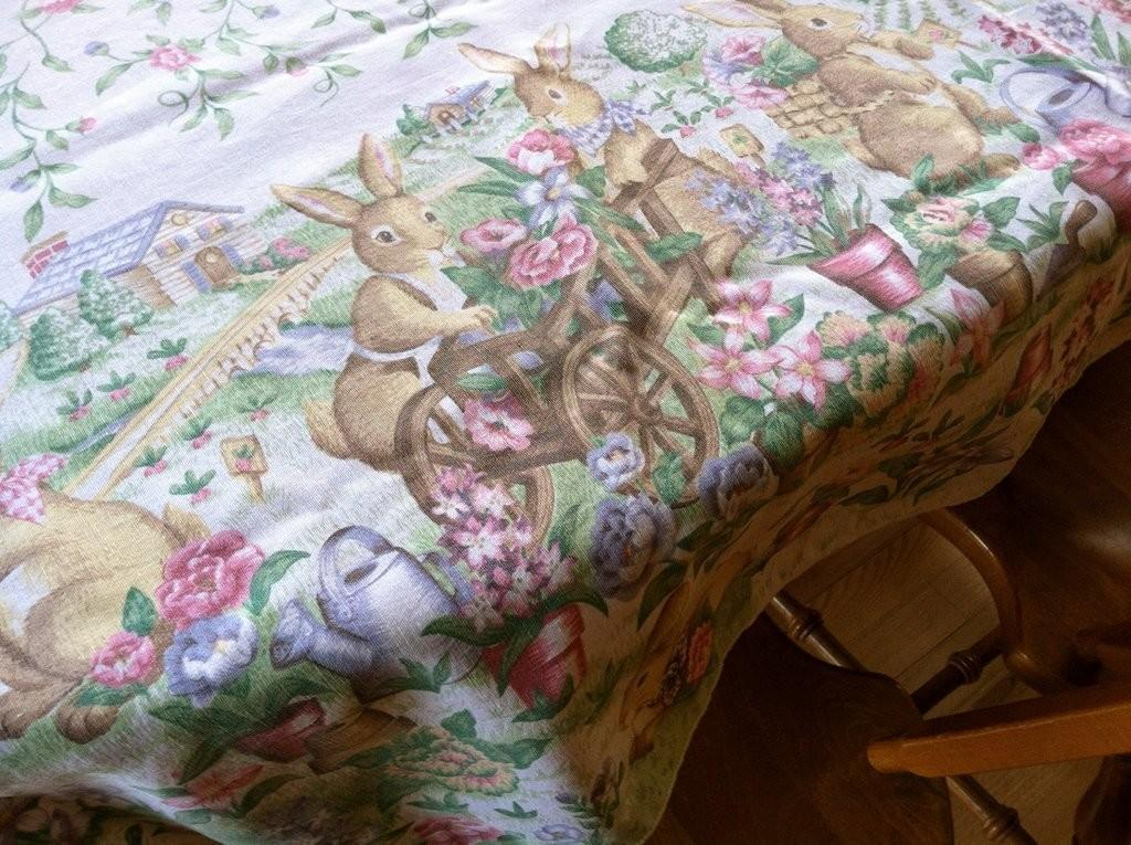 Easter Table Linens Wedding