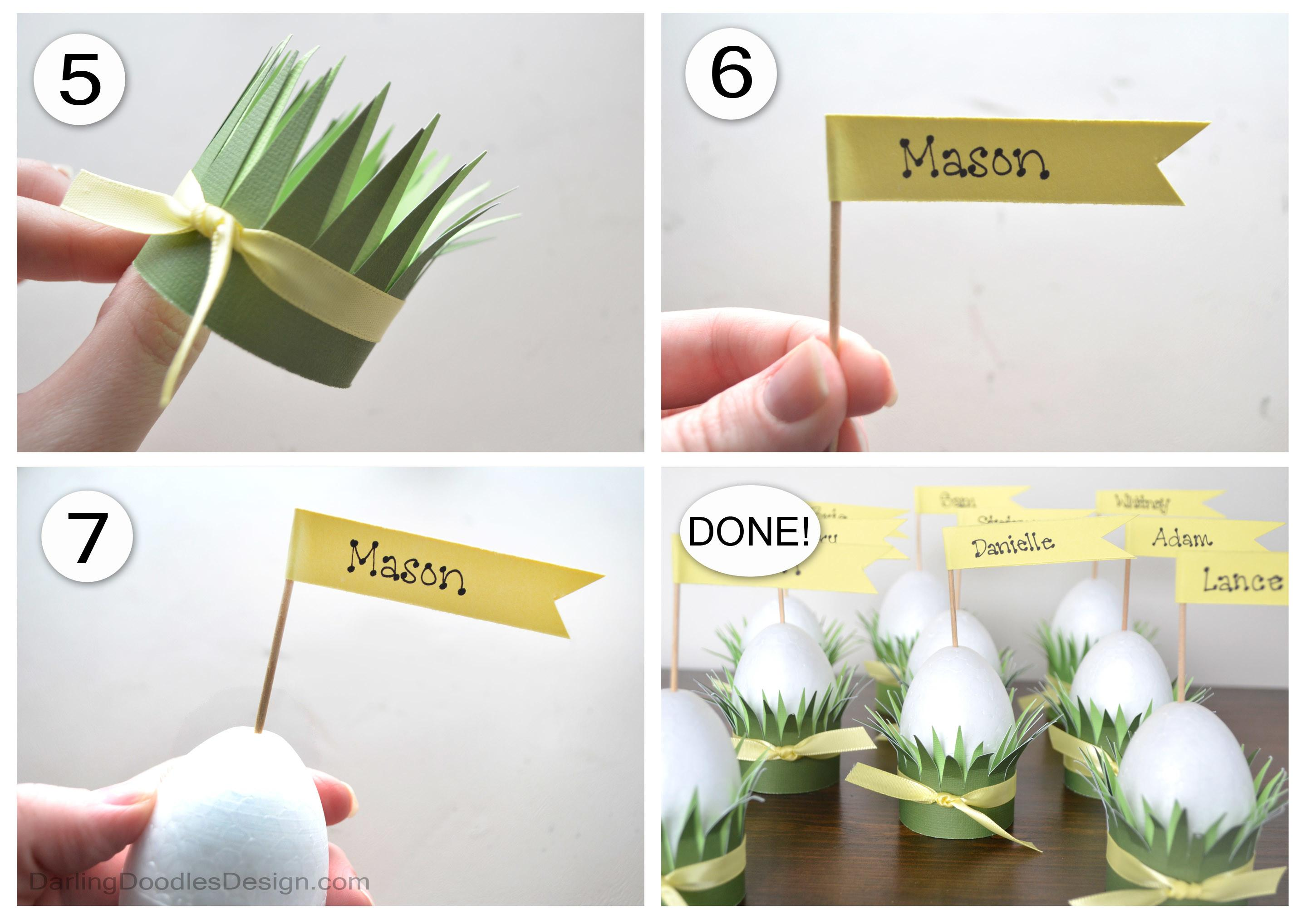 Easter Table Place Card Ideas 1000
