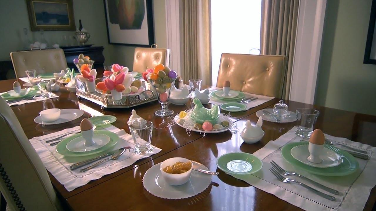 Easter Table Setting Home Allen Smith