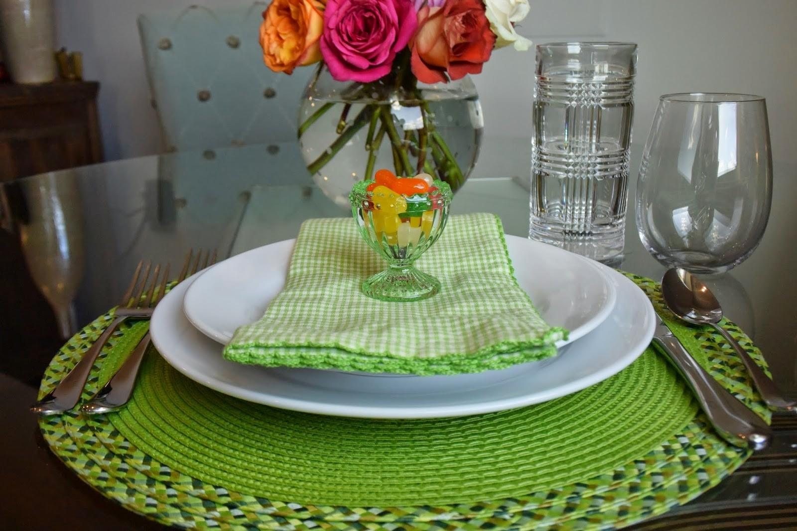 Easter Table Setting Inspiration Champagne Darling