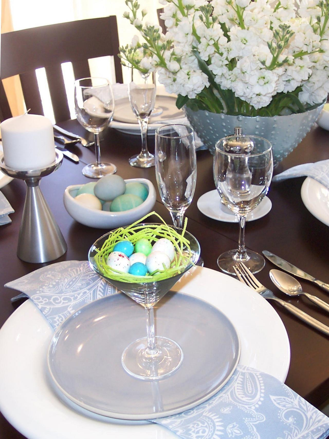 Easter Table Settings Centerpieces Entertaining