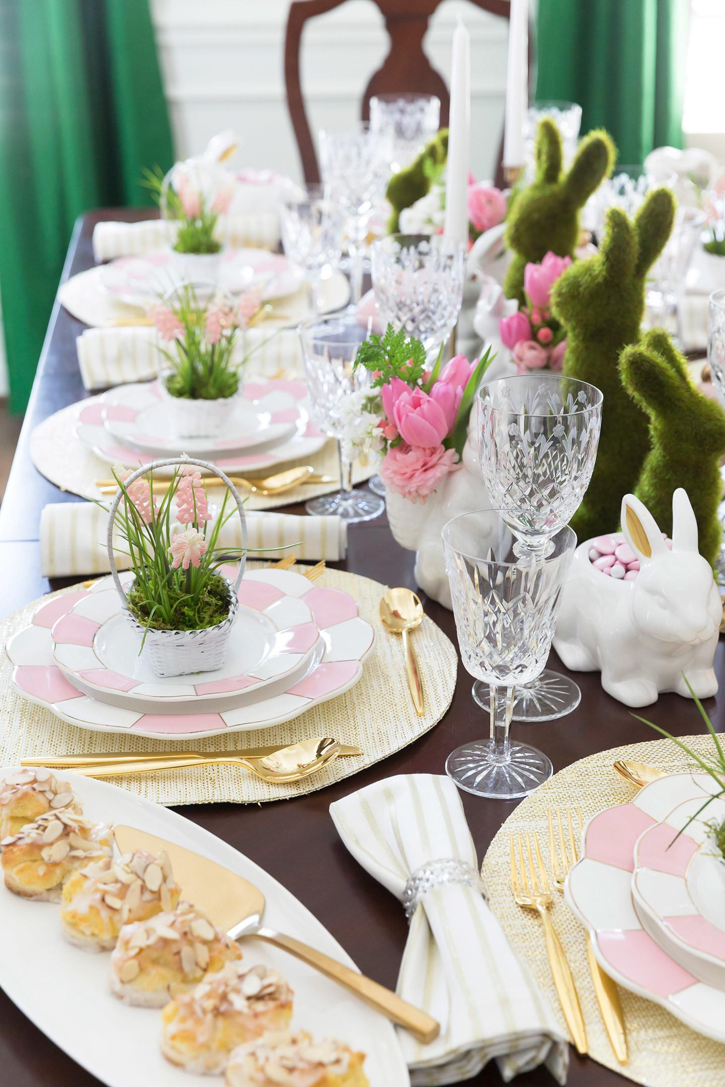 Easter Tablescape Inspiration Styling Tips Pizzazzerie