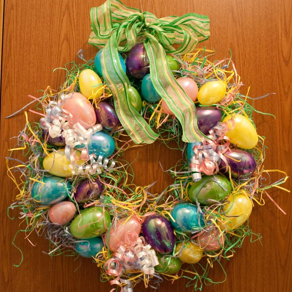 Easter Wreaths Keeping Simple Crafts