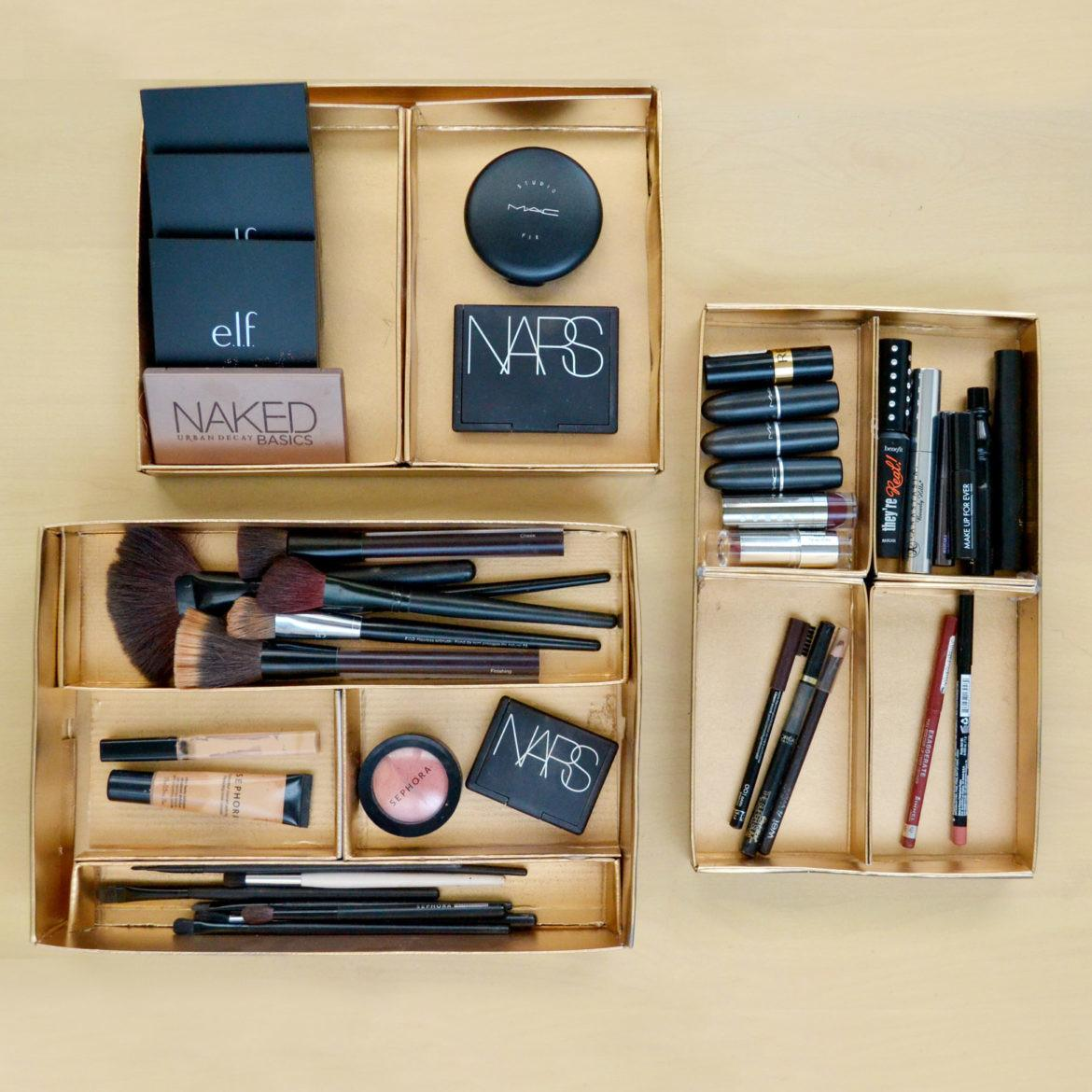 Easy Adorable Diy Makeup Storage Ideas
