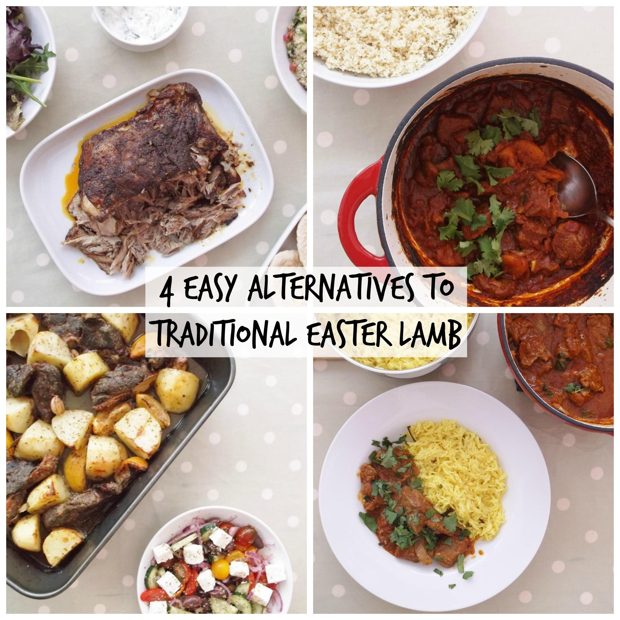 Easy Alternatives Traditional Easter Lamb