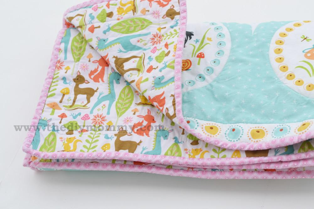 Easy Baby Quilt Diy Mommy