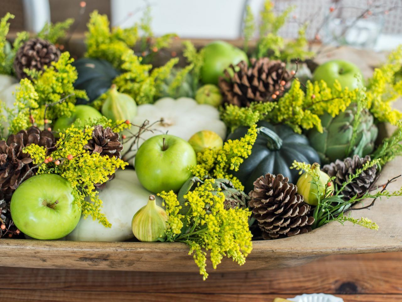 Easy Centerpieces Thanksgiving Fall Parties