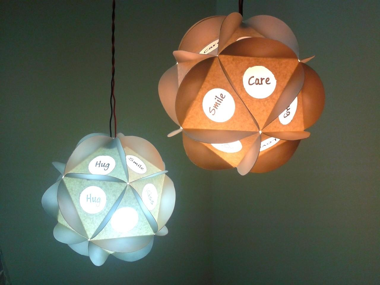 Easy Cheap Awesome Looking Tlc Pendant Paper Lamp
