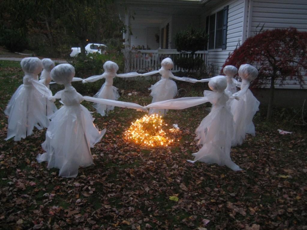 Easy Cheap Diy Outdoor Halloween Decoration Ideas