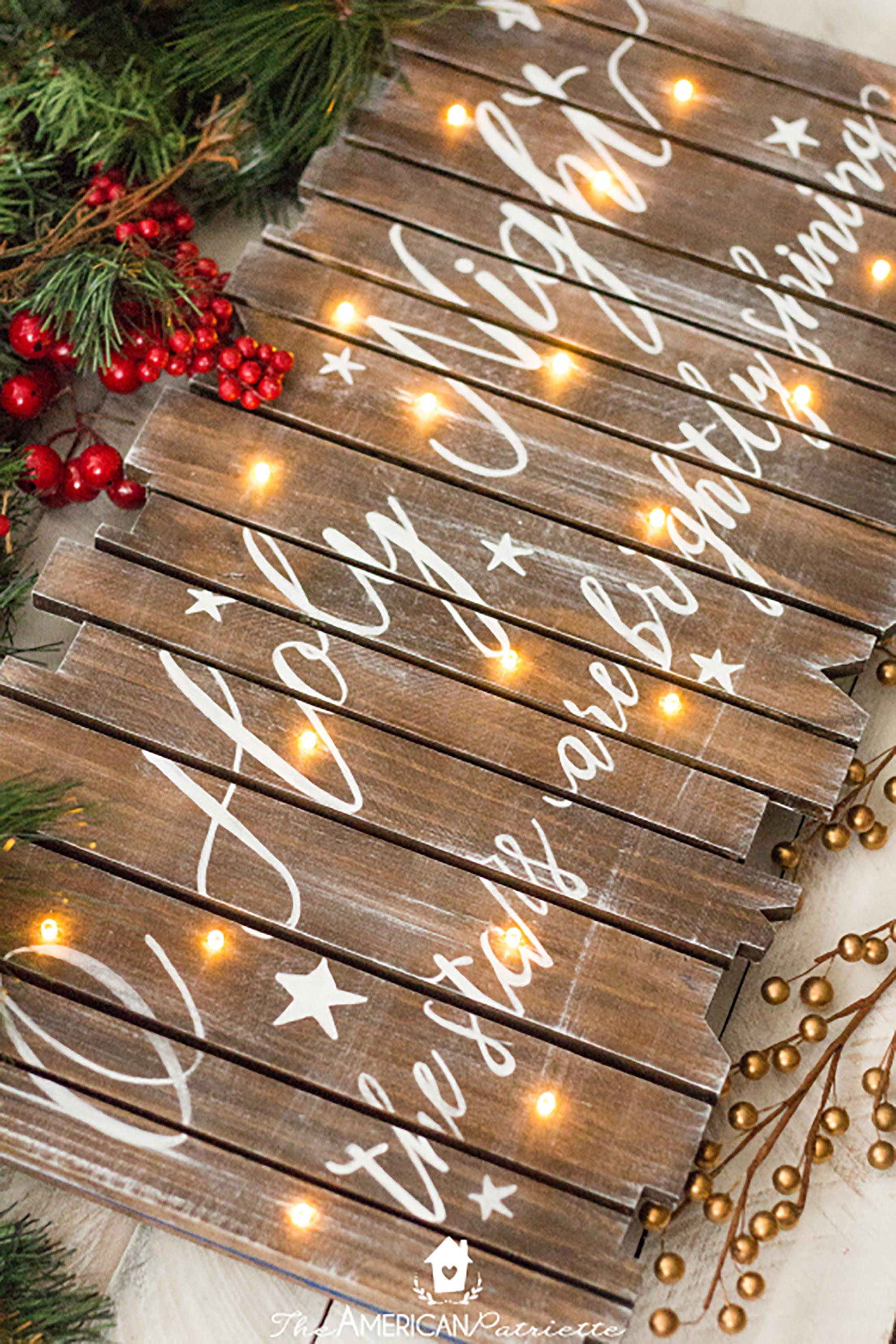Easy Christmas Crafts Adults Make Diy Ideas
