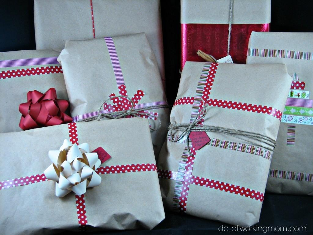 Easy Christmas Gift Wrapping Ideas All Working Mom