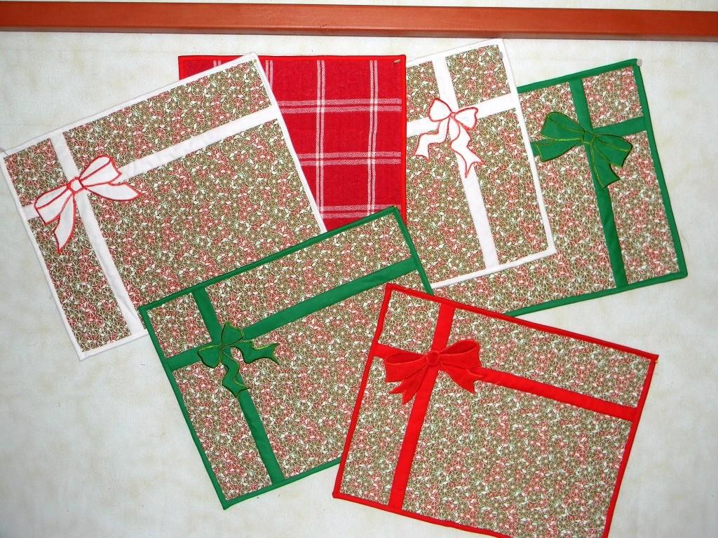 Easy Christmas Placemats