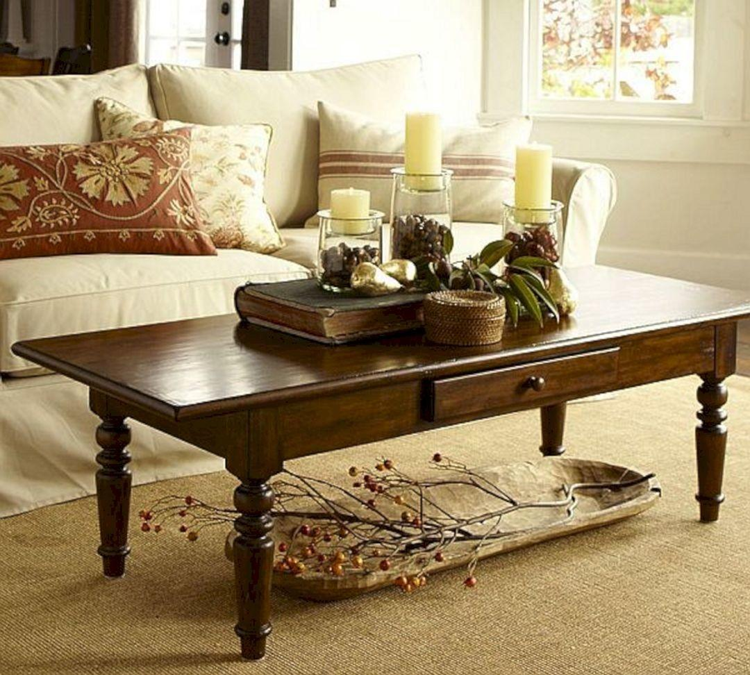 Easy Coffee Table Decorating Ideas